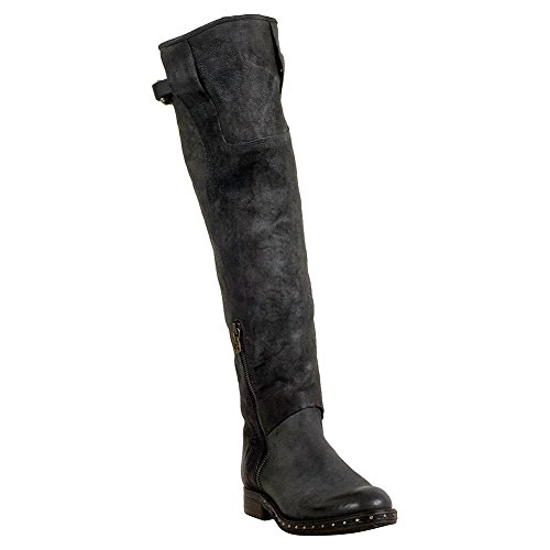 As98 Sudbury Womens Over-the-knee Boot Rök