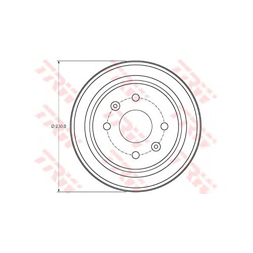 TRW DB4442 Brake Drums: