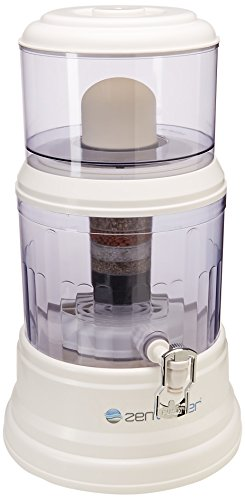 Zen Water Systems Countertop Filtration and Purification System, 4-Gallon (Base O-ring)