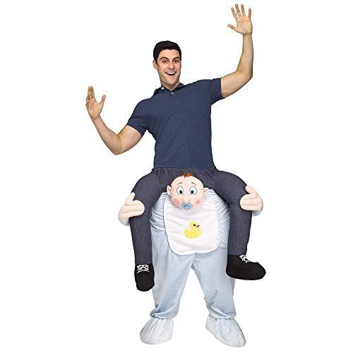 Fun World Men's Carry Me Baby Adult Cstm, Multi Standard -