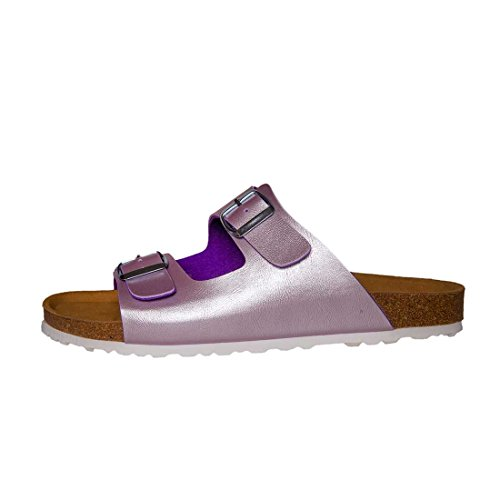 Bioline Liol Shiny Mules Purple Violett Violett Mules R8Hq8