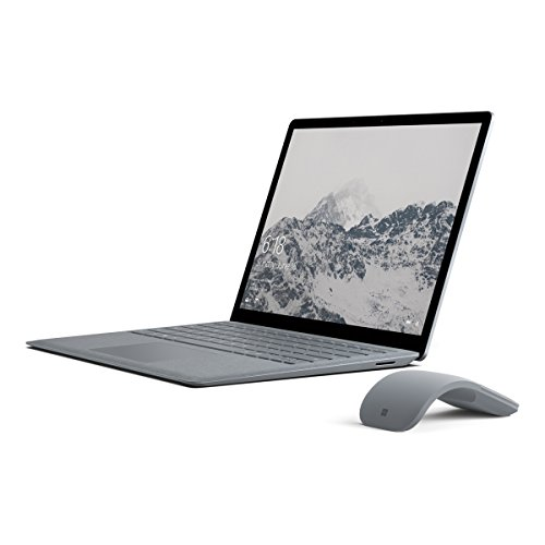 Price comparison product image Microsoft Surface Laptop (Intel Core i5, 4GB RAM, 128GB) - Platinum with Platinum Mouse