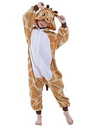 Canasour Polyster Chrismas Giraffe Chridren Cosplay Onesies