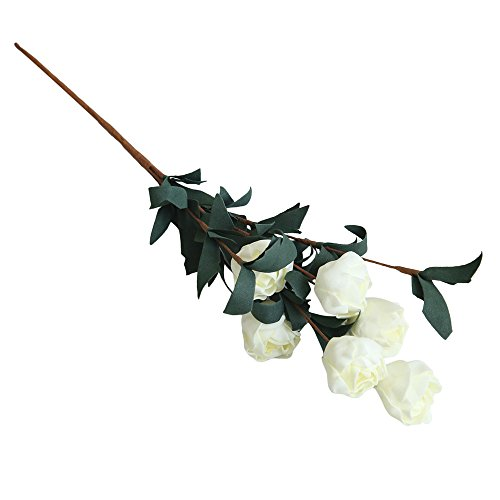 Tronet Fakes Plants Flower Artificial PE Fake Flowers Rose Floral Wedding Bouquet Bridal Hydrangea Decor WH