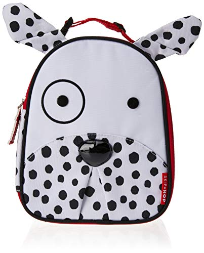 Skip Hop Zoo Kids Insulated Lunch Box, Dax Dalmatian, White ()