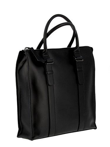Unique Noir à Femme Sac Noir pour Zanellato Taille Main 0ZUqT5