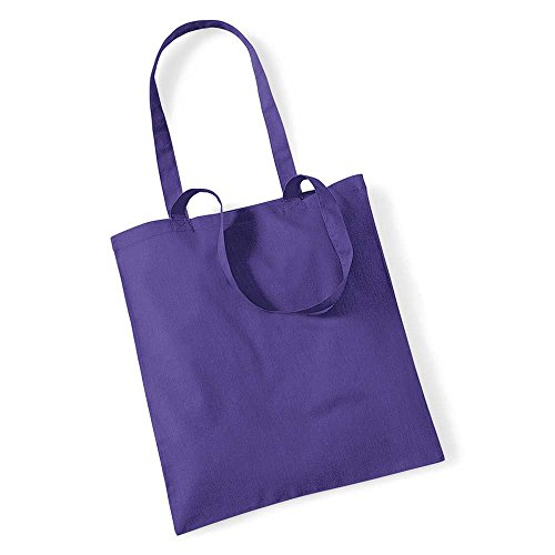 Westford Mill Promo Colours Shopping Bag For Life Purple