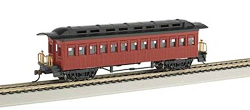 Review Bachmann 1860-1880 Passenger Car-Coach-Painted