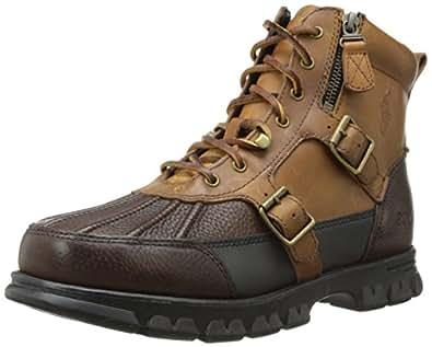 Polo Ralph Lauren Men's Demond Boot,Briarwood/Tan,7 D US
