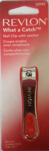 Revlon What a Catch Nail Clip with Catcher (Pack of 4)