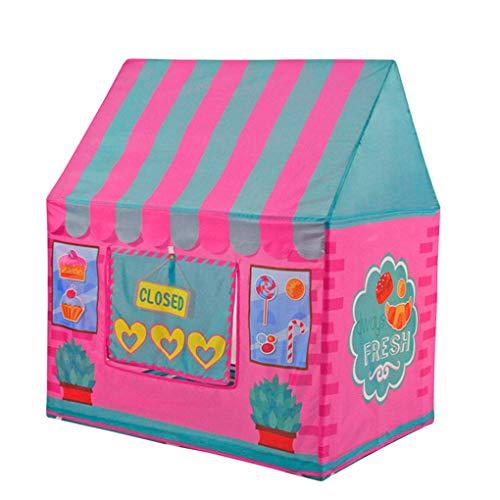 平らにする思いやり乞食子供のテント室内少年少女玩具ゲーム家スプリットベッドアーティファクト世帯プリンセス城,A