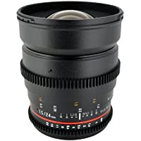 Rokinon 24mm T1.5 Wide Angle Cine Lens for Olympus and Panasonic Micro 4/3 (MFT) Mount Digital Cameras (CV24M-MFT)