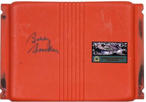 Bobby Bowden Florida State Seminoles Autographed Orange Bowl Seat - Fanatics Authentic Certified - Other College Game Used Items