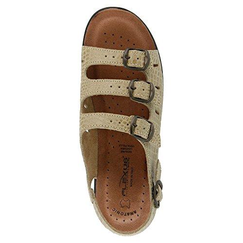 M Women's M 8 EU 5 Flexus Sandals 38 7 Beige Adriana XdqTUxS1