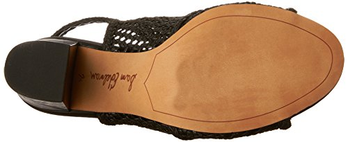 Edelman Women's Evie Black Sandals Fashion Sam F6qn1dz1