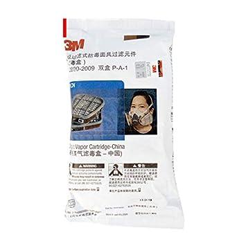 Máscara de gas 6800 6001 filtro orgánico Respirador pintura ...
