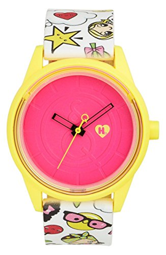 "Harajuku Lovers HL2317 ""Emoji Party"" Solar Watch 40mm"