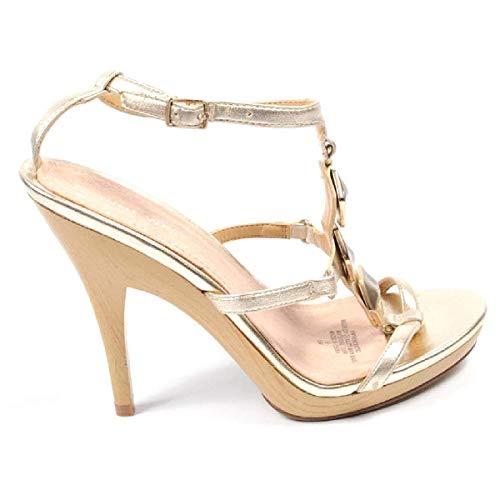 Sandalo Nwvencentio Nine Donna Cinturino Con Oro Gold Light West Caviglia axYraFInq