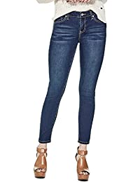 Guess Factory Women's Melanie Mid-Rise Skinny Jeans