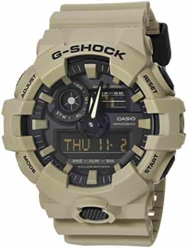 6ba4eb7a7 Casio Men's XL Series G-Shock Quartz 200M WR Shock Resistant Resin Color:  Matte