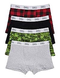 Boys Fun Underwear | Boxer Briefs 4-Pack Size XS (6/6X)