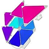 Nanoleaf Rhythm Music Syncing Smarter Kit - 9 *Panneaux lumineux avec Kit de Synchronisation musicale - Fonctionne avec Alexa