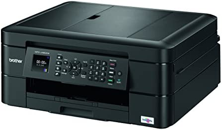 Brother MFC-J480dw Wireless Inkjet Color All-in-One Printer with Auto Document Feeder Dash Replenishment Enabled 1.8″ 41nGEeZ1 2BKL