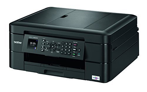 Brother MFC-J480dw Wireless Inkjet Color All-in-One Printer with Auto Document Feeder Dash Replenishment Enabled 1.8'' by Brother (Image #1)