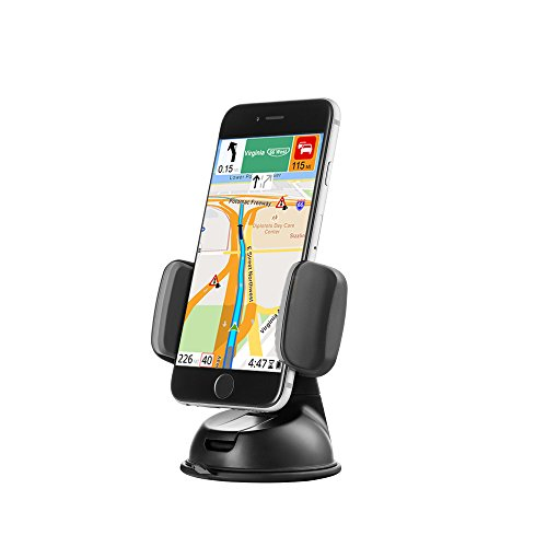 Windscreen Board Dash - Zilu Car Phone Mount, Cell Phone Holder for Dashboard and Windshield, Car Accessories for iPhone Andorid and More-Retail Packaging