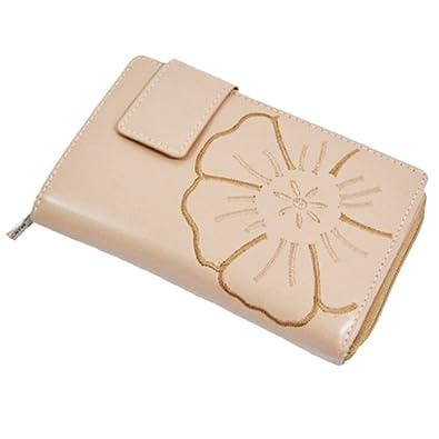 7949678f7d023 Branco Leder Damen Geldbörse Portemonnaie Geldbeutel 14x9x2cm (Off White)