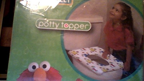 Neat Solutions Potty Topper Disposible Toilet Seat Cover - Sesame Street (Elmo)