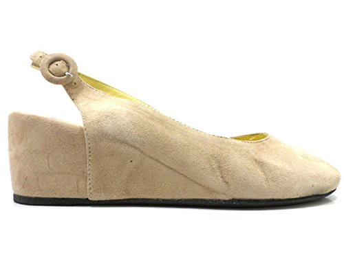 WILLY'S ANGELS Sandals Woman Suede Beige Suede Woman (6 US / 36 EU) B01J3U64QQ Shoes d7dbc1