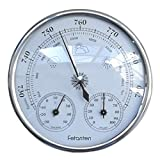 Fetanten Air Pressure Meter Thermometer Hygrometer 3 in 1 Weather Station