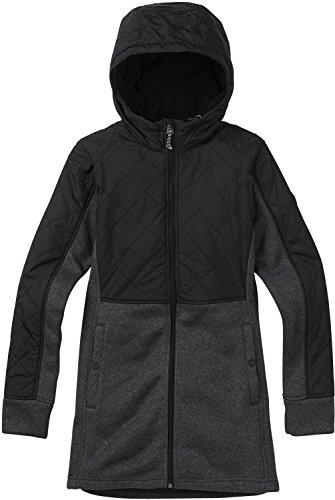 Burton Women's Embry Fleece Sweater, True Black Heather, Small -