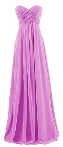 Wedding Beach Purple Jaycargogo Strapless Simple Gown Dress Womens Bride Dresses Chiffon tqqRZE