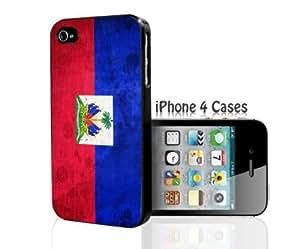 Haiti Flag iPhone 4/4s case hjbrhga1544