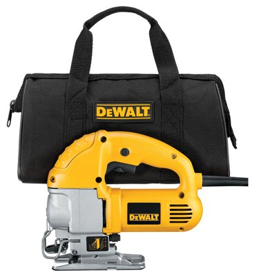 Black & Decker/Dewalt DW317K Jigsaw Kit, Variable Speed, 5.5-Amps - Quantity 4