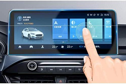 XHULIWQ 12.3インチ車のナビゲーション強化ガラスLCDスクリーンタッチ保護フィルム、フォードアクティブ2020