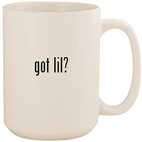 got lil? - White 15oz Ceramic Coffee Mug Cup