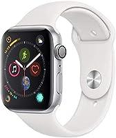 Apple Watch Series 4, 44 mm, Alumínio Prata, Pulseira Esportiva Branca e Fecho Clássico - Mu6a2bz/a