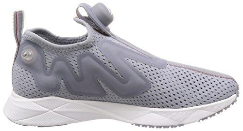 Reebok Pump Supreme Tape Sneakers Grigio Bianco CN1178-40, Grigio