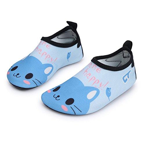 Adorllya Water Shoes Aqua Socks Water Socks Swim Shoes for Kids Toddlers Boys Girls – DiZiSports Store