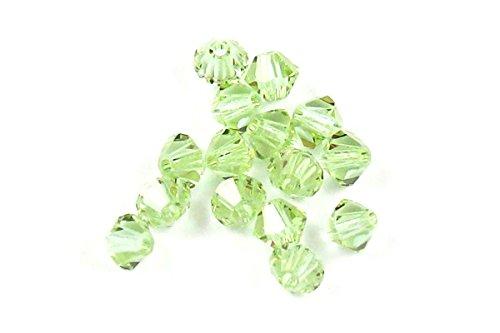 Cantaloupe Bicone - SWAROVSKI ELEMENTS Crystal #5328 4mm Bicone Beads Cantaloupe (50)