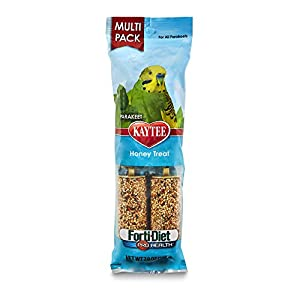 Kaytee Forti-Diet Pro Health Honey Bird Treat Sticks For Parakeets, 7-Ounce 19