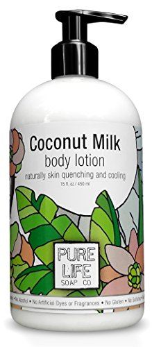 Pure Life Body Lotion Coconut, 15 Fluid Ounce