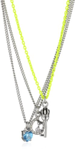 Juicy Couture Silver Horshoe Teeny Wish Necklace Sets