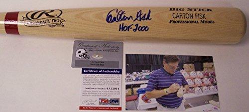 Carlton Fisk Autographed Hand Signed Baseball Bat - ()