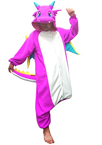 Dragon Onesie Kigurumi (Pink) -