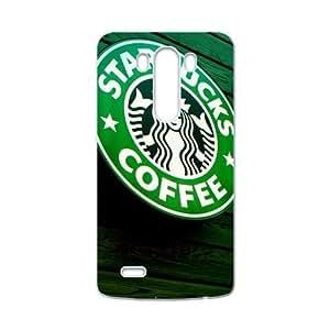 QQQO Starbucks design fashion cell phone case for LG G3