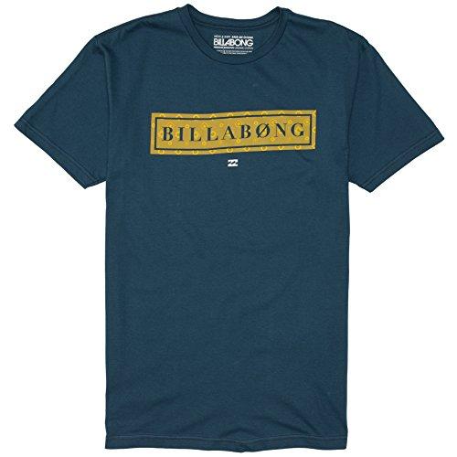 Billabong Men's Blocker Short Sleeve T-Shirt, Naval, X-Large